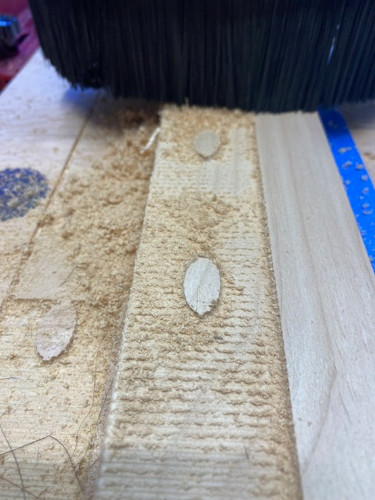 CNC Machined Wooden Trim in Progress