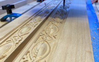 CNC Machined Wooden Trim